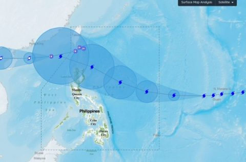 Typhoon Mangkhut lumakas pa