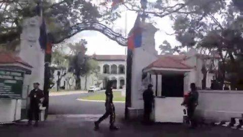 Seguridad sa Malakanyang, doble higpit dahil sa Anti- Martial law at Anti - Administration rally