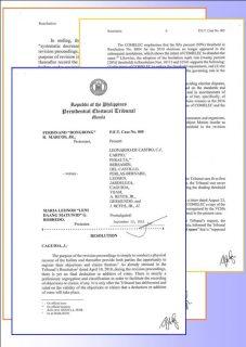 Presidential Electoral Tribunal, tinanggal ang 50% shading threshold sa pagdetermina ng boto sa Marcos poll protest