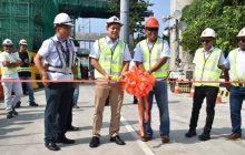 Southbound portion ng Quirino Bridge II sa Paco, Maynila, maaari nang daanan ng mga motorista