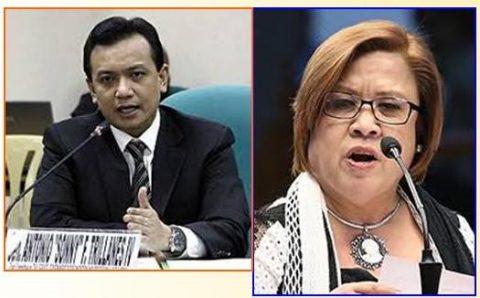 Imbestigasyon ng Inter-Parliamentary union sa umano'y political persecution ng Duterte administration kina Senador De Lima at Trillanes, welcome sa Malakanyang