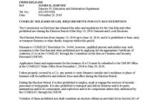 Aplikasyon para sa exemption sa Election gun ban, maaari nang isumite sa COMELEC simula sa December 1