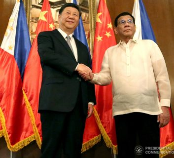 Pangulong Duterte napapayag si Chinese President Xi Jinping sa pagtatag ng Code of Conduct sa South China sea