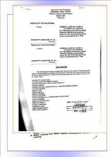 Higit 60 lider at miyembro ng Abu Sayyaf Group, hinatulang guilty ng korte kaugnay sa pagkidnap ng mga opisyal, guro at estudyante sa Basilan noong 2000