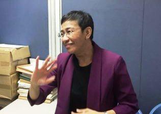 Rappler CEO Maria Ressa, nagpiyansa sa Korte kaugnay sa kasong Tax Evasion