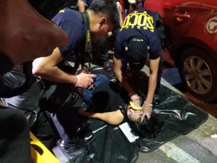 Babae, patay matapos tambangan ng riding-in-tandem sa Quezon City