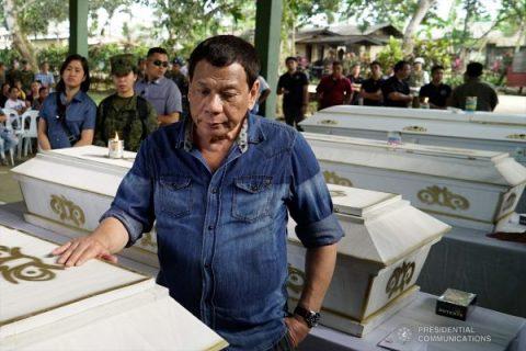 Pagdaragdag ng puwersa ng militar sa Mindanao para tugisin ang mga suspek sa Jolo bombing, ipinag-utos na ni Pangulong Duterte