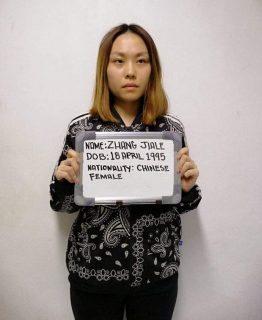 Chinese student na nagsaboy ng taho sa pulis, idinetine na ng Bureau of Immigration