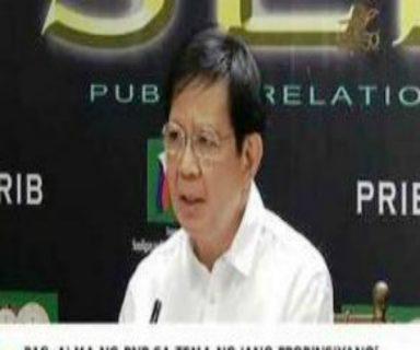 Malakanyang dumistansya sa banat ni Senador Panfilo Lacson na walang kabusugan sa pera ang mga Kongresista
