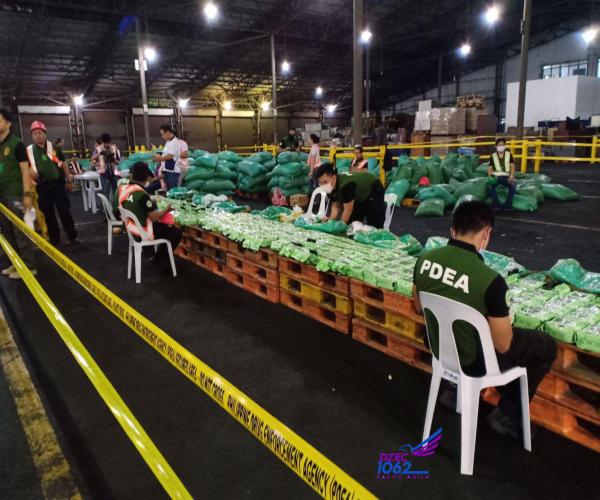 Mahigit P1-B halaga ng shabu nadiskubre sa isang isang shipment sa Manila International Container Port