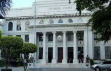 Mga gusali sa loob ng Supreme Court compound, walang tinamong malaking pinsala sa nangyaring paglindol