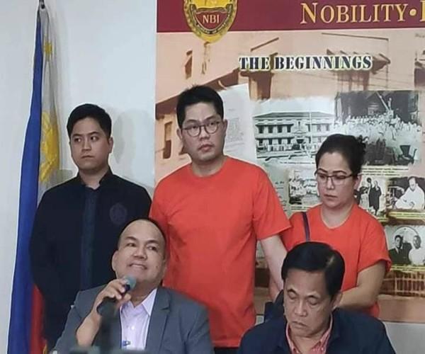 Dalawang indibidwal inaresto ng NBI sa Makati city dahil sa Estafa