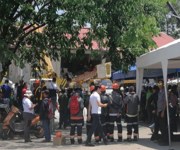 Search and rescue operation sa gumuhong gusali sa Pampanga, nagpapatuloy
