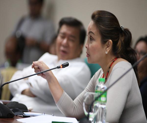 Senador Loren Legarda tinawagan na rin ng ilang contender sa pagka house speaker