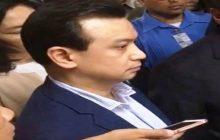 Senador Antonio Trillanes, itinangging may kinalaman siya sa mga Bikoy videos