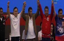 Pangulong Duterte, walang victory party para sa mga nanalong kandidato ng administrasyon