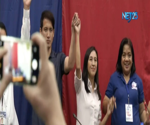 Joy Belmonte at Gian Sotto, naiproklama na bilang mayor at vice mayor sa Quezon City