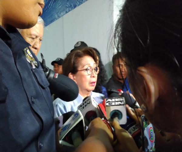 Dating Ombudsman  Conchita Carpio Morales  dismayado matapos itong hindi payagan na makapasok sa Hongkong
