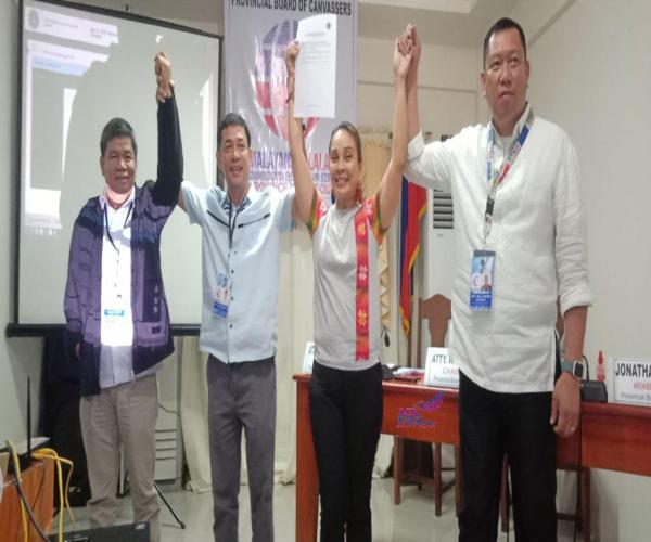 Outgoing Senator Loren Legarda naproklama na bilang Congresswoman ng  Antique