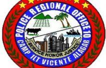 PNP Region 10, nagpasalamat sa mga residente dahil sa pakikipagtulungan para mapigil ang pag-atake ng NPA