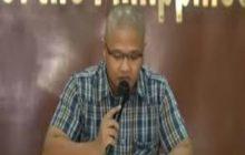Justice Sec. Menardo Guevarra kinumpirmang nagsumite na ng affidavit sa PNP si Peter Advincula alyas Bikoy