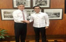 Mayor Isko Moreno nagcourtesy call kay US Ambassador to the Philippines Sung Kim