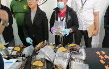 5.5 milyong halaga ng ecstasy, kush at valium nasabat ng BOC at PDEA