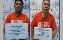 Puganteng Tsino at Koreano na wanted sa mga kasong fraud arestado ng BI sa Maynila