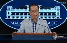 Pahayag ni Pangulong Duterte na maaaring tumanggap ng regalo ang mga pulis hindi labag sa labag sa batas ayon sa Malakanyang