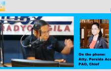 Public Attorney's Office, naghahanda na ng kasong isasampa laban kay Atty. Wilfredo Garrido dahil sa paninira sa kanilang institusyon