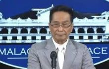 Apela para sa posibilidad na maharang ang nakatakdang paglaya ni dating Calauan Mayor Antonio Sanchez, hindi na kakayanin- Secretary Panelo