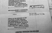 Sinibak na dating over-all Deputy Ombudsman Melchor Carandang, hiniling sa Court of Appeals na maibalik siya sa puwesto