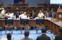 Apat na panibagong testigo ihaharap sa pagdinig ng Senado bukas