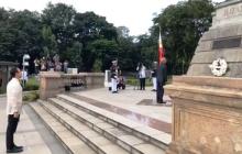 Indian President Ram Nath Kovind, nagbigay-pugay sa monumento ni Dr. Jose Rizal sa Luneta