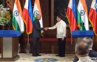 Pangulong Rodrigo Duterte at Indian President Ram Nath Kovind, nagpulong sa Malakanyang...kasunduan sa pagitan ng Pilipinas at India, nilagdaan